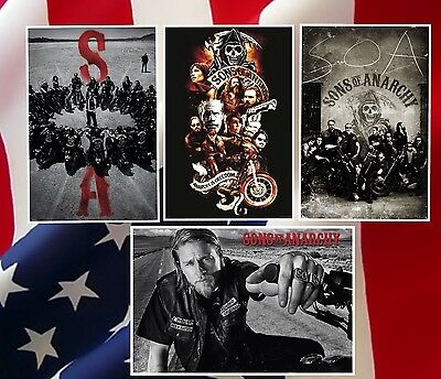 A4 A3 A2 A1 A0| Sons of Anarchy American Drama Series Poster Print T600