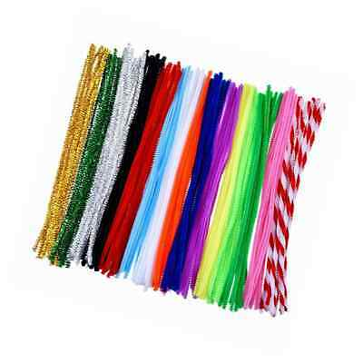 Outus Pipe Cleaners Chenille Stem Art Craft Pipe Cleaners 150 Pieces, 6 by 300 m