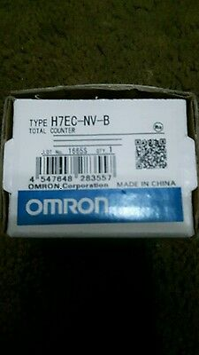 OMRON TOTAL COUNTER H7EC-NV-B NEW 180 day warranty