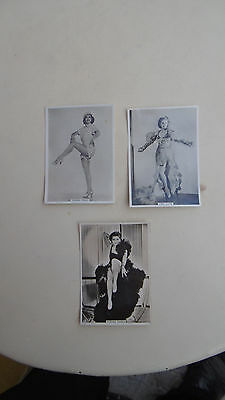 Modern Beauties Series BAT cigarette cards (3 cards)