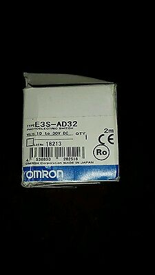 OMRON E3S-AD32 PHOTOSWITCH NEW 180 day warranty