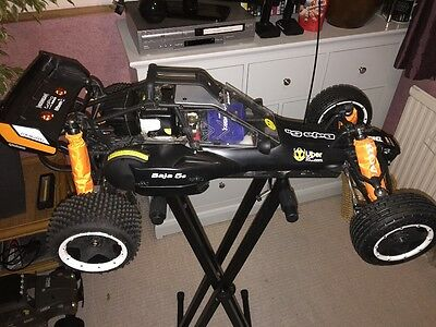 HPI Baja 5b 2.0 RTR with d-box 2 and extras