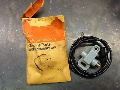 NOS Harley- Davidson Rear Stoplight Switch 68-69 Rapido ML/MLS 73-Later X90