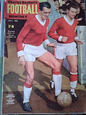 CHARLES BUCHAN'S FOOTBALL MONTHLY July 1962 Liverpool Sheffield United