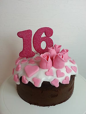 16th Birthday Candles.Number Candles.Birthay Cake Candles.Anniversary Candles