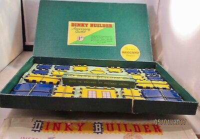 Meccano Dinky Builder Outfit 1A [1958] - Original Parts, Box & Instructions