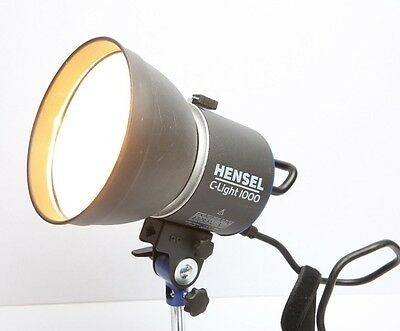 HENSEL C Light 1000 With Reflector And Barndoors