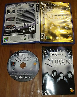 SingStar Queen pour PS2 Playstation 2