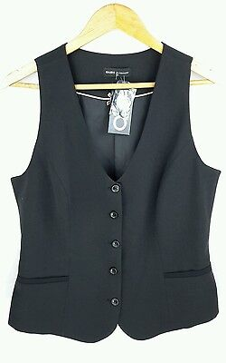 Ladies Smart black Waistcoat Size 14 Oasis by Foschini New with tags