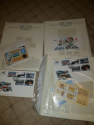 maritime heritage Ship thematic stamps and hingeless sheets with facilities cove