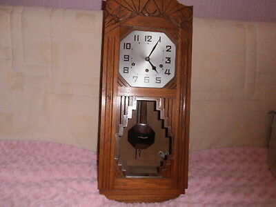Ancien    Carillon  Junghans   8 Tiges  8  Marteaux   (No  Odo)