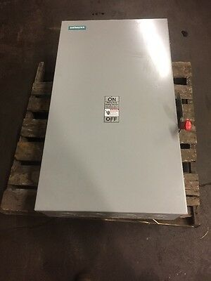 Siemens Heavy Duty Safety Switch HNF365 400 AMP 600V Disconnect Switch