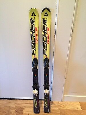 Fischer Race Kids Skis With Atomic 145 Bindings