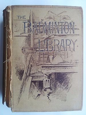 "1887- SCARCE 1st EDITION ""BADMINTON LIBRARY BOOK OF CYCLING"" - G.LACY HILLIER"