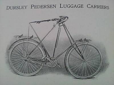 """DURSLEY PEDERSEN CYCLES"" Catalogue Reprint - 24 Pages Fully Illustrated"