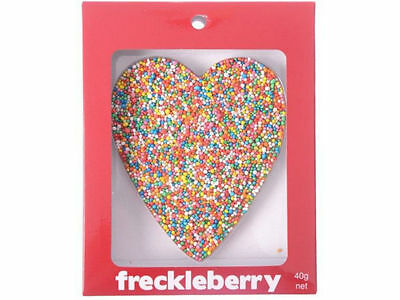 HEART Chocolate Freckleberry Freckle - Boxed New Great Unique Love Gift Present