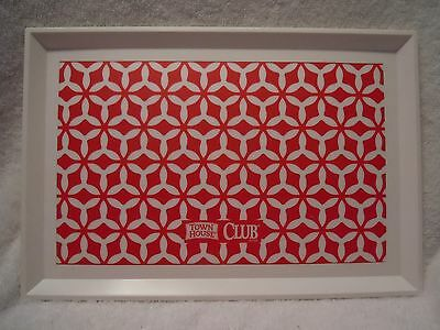 Town House Club Crackers Plastic Serving Tray 2015