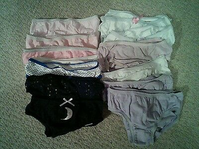 Girls First Size Briefs, ideal for potty training, age 1+