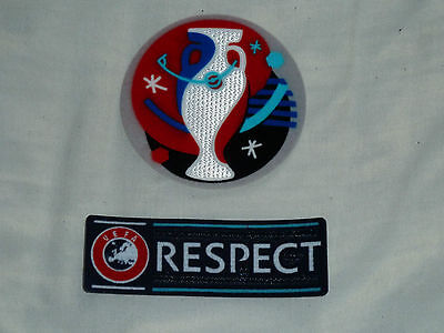 France EURO 2016 Sleeve Badge Set Patch For Football Shirt Jersey Iron On