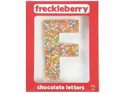 Letter F Chocolate Freckle Letter New Great Unique Gift Present Birthday