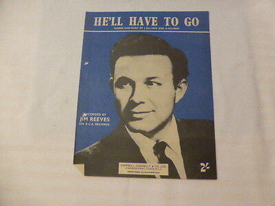 He'll Have To Go - Jim Reeves