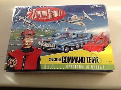Captain Scarlet And The Mysterons Spectrum Command Team  Vivid Imaginations
