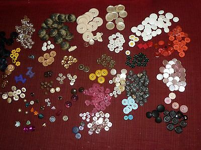 Antique Vintage & more Buttons assorted styles and materials