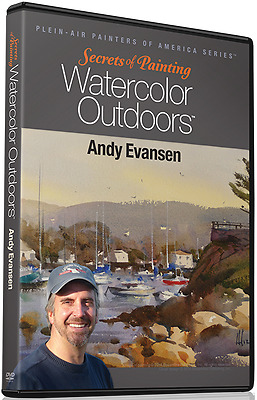 Andy Evansen: Secrets of Painting Watercolor Outdoors - Art Instruction DVD