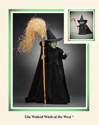 R John Wright Wicked Witch, Wizard of Oz, Doll AND Mouse! BOGO! Gorgeous!