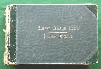 RAILWAY CLEARING HOUSE 1920 JUNCTION DIAGRAMS 1 to 158 COMPLETE SET