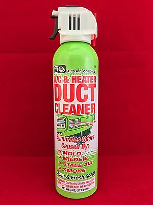 Genuine IDQ A/C & Heater Air Vent Duct HVAC Cleaner & Deodorizer 760 Free Ship