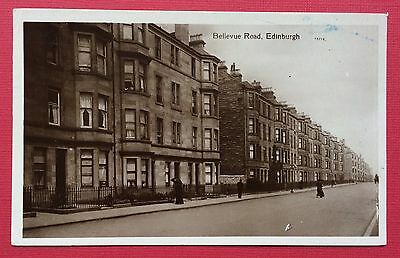 Bellevue Road, Edinburgh, Pu Wood, Real Photographic, Posted 1912