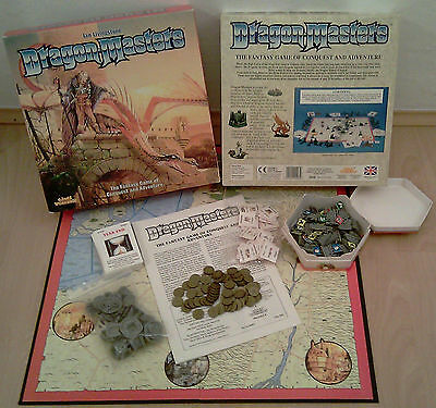 Dragon Masters Games Workshop Ian Livingstone Mighty Empires Strategy TOP