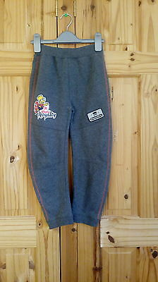 boys simpsons joggers grey age 7/8 years