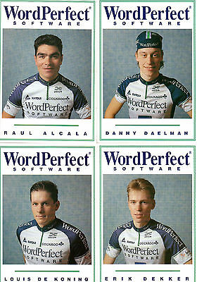 Cyclisme, serie World Perfect 1993, 16 cartes