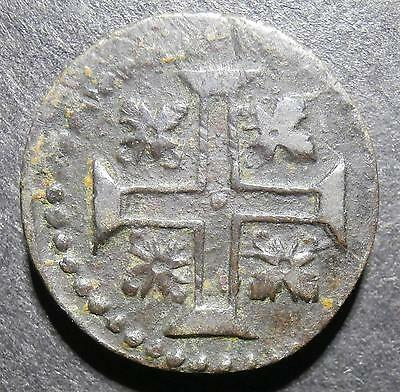 UK Coin weight - for Portugese half 1/2 Moidore W - cross reverse 5.01g