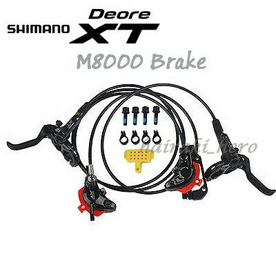 Shimano Deore XT M8000 Hydraulic Disk Brake Lever MTB Front & Rear Set Mountain