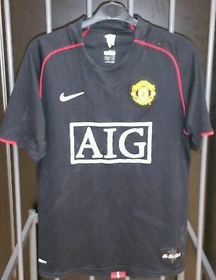 Manchester United 2007 away shirt Tevez 32 small mens Argentina