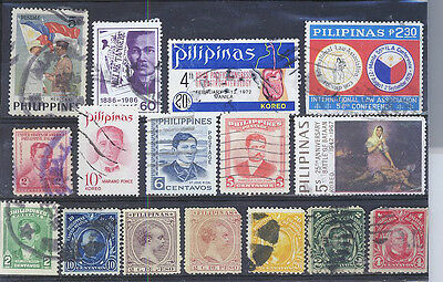 Phillipines Small Collection Of Stamps  Pack 43Lb