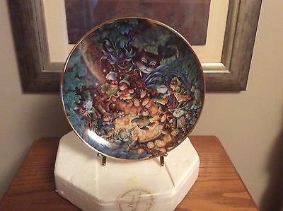 Bill Bell St. Catrick's Day Plate Limited Edition Numbered Franklin Mint He