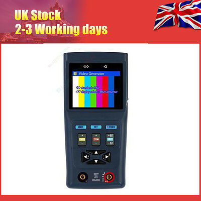 """Generic Black 2.8"""" CCTV Tester DT-V31 With Video Audio Test DC12 1A power output"""