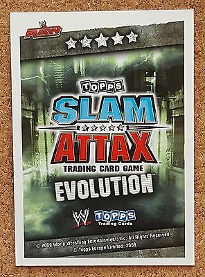 WWE Topps Slam Attax Evolution Champion Winning Moves Limited Editions - VARIOUS