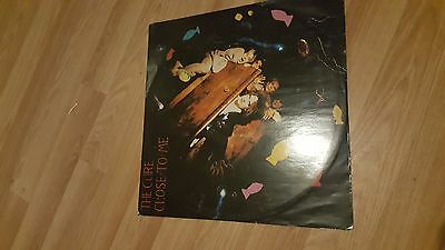 The Cure Close To Me Vinyl Record 12Inch