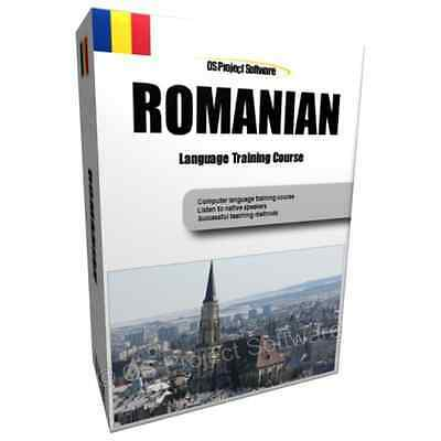 Learn to Speak ROMANIAN - Complete Language Text and Audio Training Course