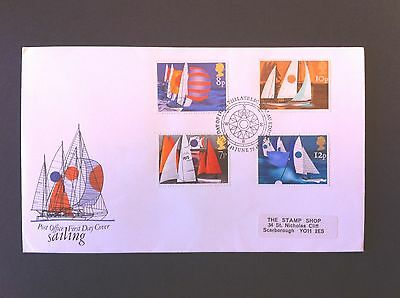 First Day Cover – Sailing 1975