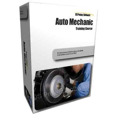 Auto Mechanic Car Technician Learning Skills Equipment Training Course