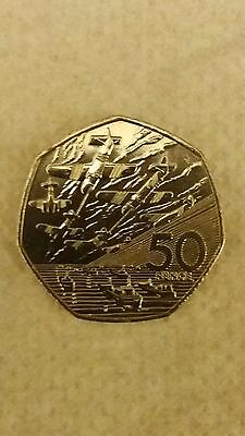 1994 50P Coin Rare D Day Landing Fifty Pence Battle Of Britain