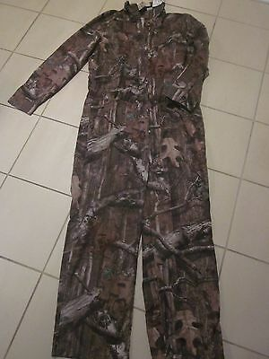LL BEAN Break-Up Infinity Mossy Oak Camo Coveralls Camouflage Size Large NWT