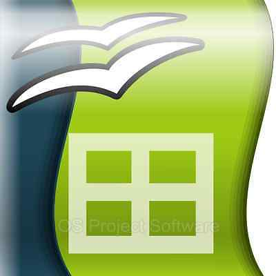 Open Office 2016 Software Suite - Compatible With Microsoft Excel 2013 2010