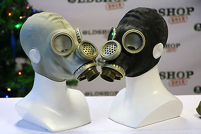 SET Gas Masks GP-5M (masks) Grey and Black Soviet Russian NEW Vintage ALL SIZES